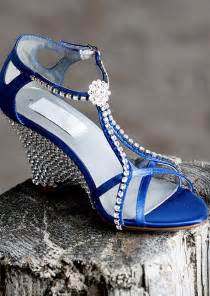 wedding shoes for wedges blue wedding shoes wedges ipunya