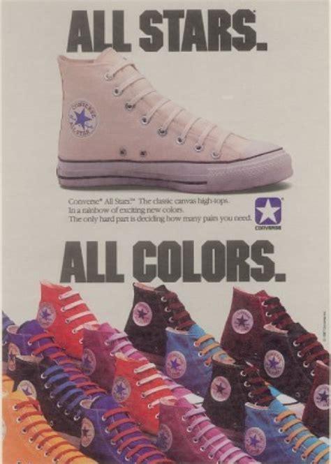 star phenomenon  vintage converse  star ads