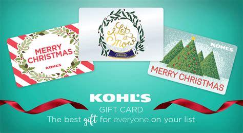 kohls christmas gifts gift cards kohl s gift cards gift card holders kohl s