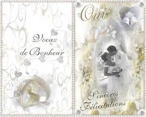 carte mariage mariage carte and mariage