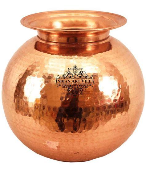 indianartvilla  coating copper pot buy    price  india snapdeal