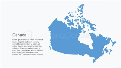 base powerpoint map canada