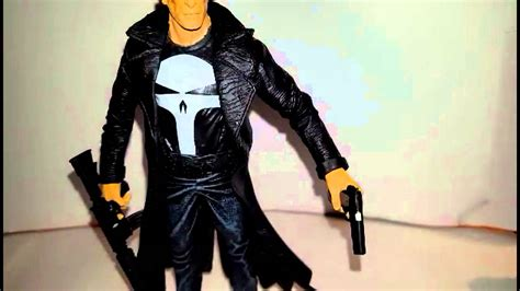 marvel select the punisher diamond select frank castle action figure review youtube