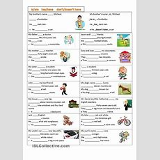 Dont&doesnt  Esl Worksheets Of The Day  Teaching English Grammar, English Lessons, English