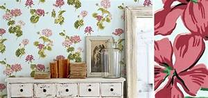 17 meilleures idees a propos de papier peint shabby chic With idee deco entree maison 17 le style shabby chic dans la decoration de maison printaniare