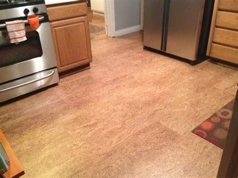 Cork Floor In Los Gatos Kitchen  Contemporary  San