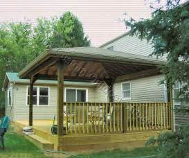 Covered Deck Plans Ideas by Outdoor Covered Deck Ideas Studio Design Gallery