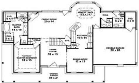4 bedroom 3 bath house plans 4 bedroom 3 bath house plans 4 bedroom 3 bath single story house plans one story country style