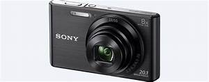 Small & Compact Digital Camera with Zoom | DSC-W830 | Sony US