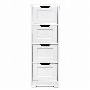 Meuble Tiroir Salle De Bain : meuble tiroirs rangement salle de bain ~ Edinachiropracticcenter.com Idées de Décoration