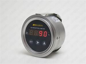 Digital Boost Gauge With Pressure Sensor  Combo-p