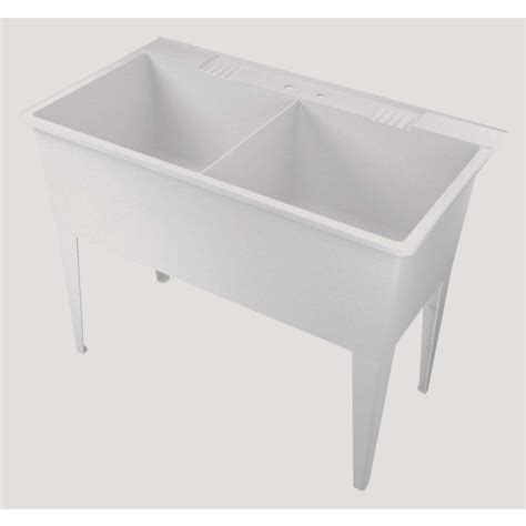 home hardware laundry tub american shower and bath 174 heavy duty 38 gal utility