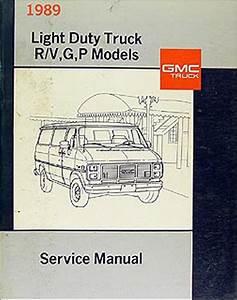 1989 Gmc Fuel  U0026 Emissions Manual Original Pickup  Van