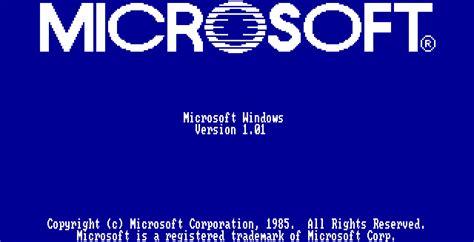 si e social microsoft vyzkoušejte si windows 1 01 přímo ve svém prohlížeči