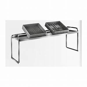 Etagere A Poser Inox : tag re professionnelle inox cuisine fixer sur table ~ Edinachiropracticcenter.com Idées de Décoration