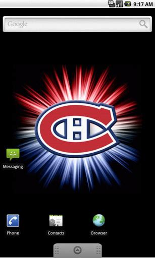 montreal canadiens logo wallpaper wallpapersafari