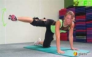 Упражнения для ляшек похудеть за неделю