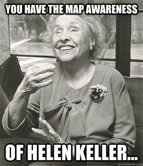 Helen Keller Memes - helen keller dog