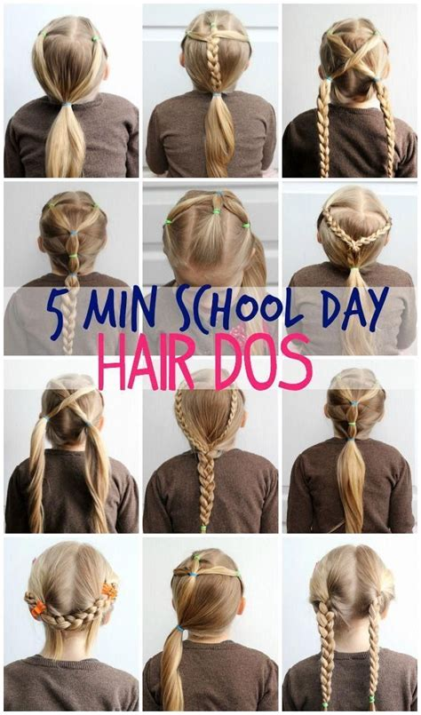5 Minute Hairstyles for School Learn How FYNES DESIGNS