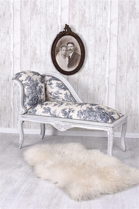 toile pour chaise longue chaise longue toile de jouy recamier sofa rococo stool