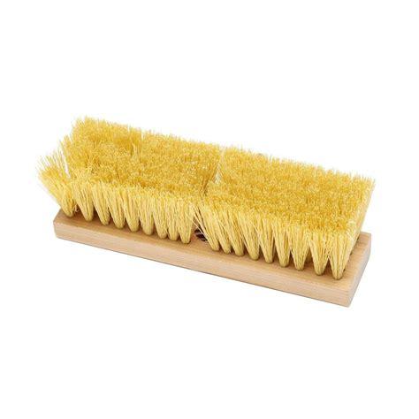 laitner brush synthetic deck scrub brush 887 the home depot