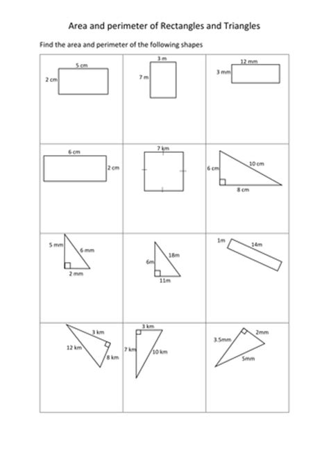 All Worksheets » Rectangle Worksheets  Printable Worksheets Guide For Children And Parents