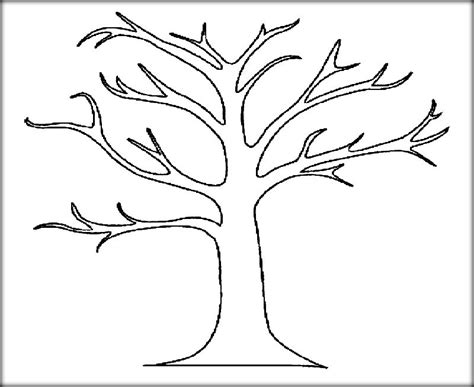 Download Tree & Leaves Coloring Pages For Kids & Adult