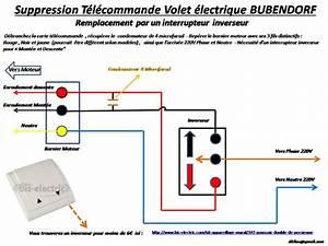 Branchement Volet Roulant électrique : schema electrique volet roulant bubendorff mesdemos ~ Melissatoandfro.com Idées de Décoration