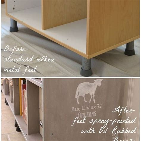 before after transforming an ikea bookcase hometalk