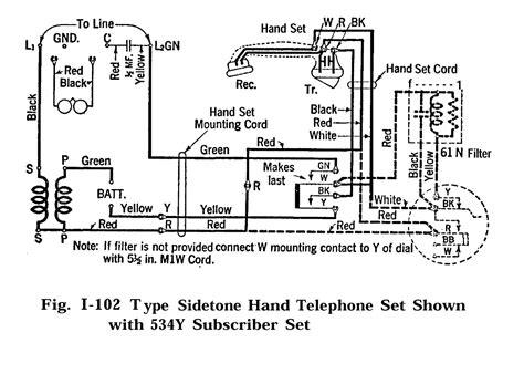 wrg  telephone schematic