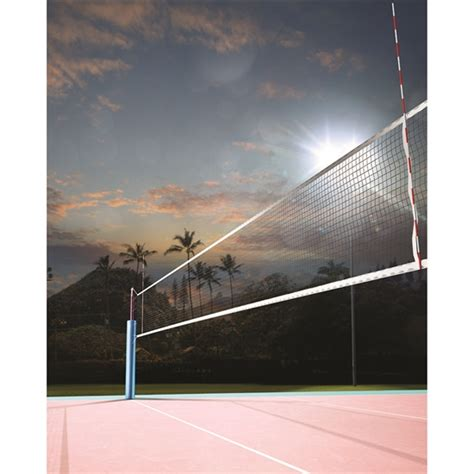 volleyball  sunset printed backdrop backdrop express