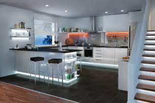 küche planen mit preis küchenbeleuchtung funktional und stimmungsvoll paulmann licht