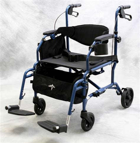 rollator transport chair medline excel translator 2 in 1 transport chair wheelchair