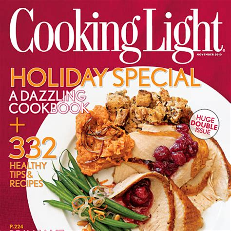 cuisine light cooking light magazine november 2010 recipe index cooking light