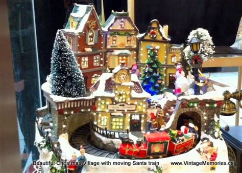 vintage memories christmas scene villages