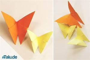 Schmetterlinge Aus Tonpapier Basteln : origami schmetterling basteln 90 sekunden anleitung zum falten ~ Orissabook.com Haus und Dekorationen