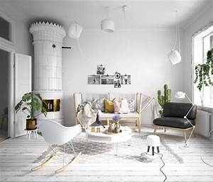 Skandinavisch Einrichten Wohnzimmer : wohnzimmer einrichtungsideen beispiele tipps f r den trendigen raum ~ Sanjose-hotels-ca.com Haus und Dekorationen