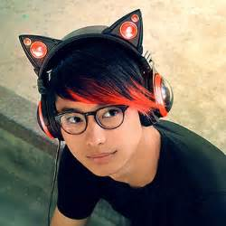 cat headphones cat ear headphones by axent wear brookstone