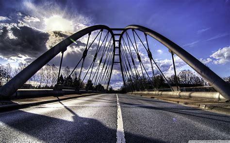 road bridge  hd desktop wallpaper   ultra hd tv