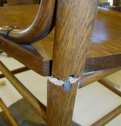 how to repair wooden chair legs