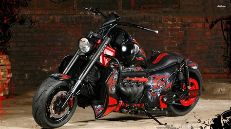Harley Davidson 3d Wallpaper ·①