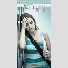 7 Ways To Reduce Student Anxiety During Timed Tests  Integrated Learning Strategies