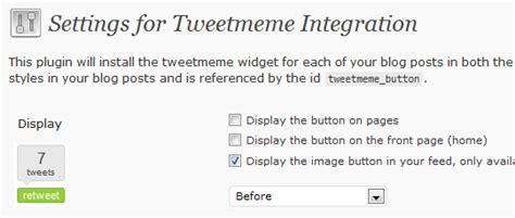 Tweet Meme - 15 useful twitter plugins for wordpress web design ledger