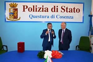 Visita alla Questura di Cosenza del Signor Capo della Polizia Direttore Generale della Pubblica