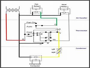 At 0784  Wiring Diagram A C Thermostat Free Diagram