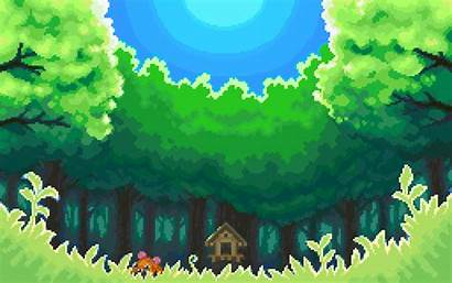 Pixel Games Pokemon Background Wallpapers Forest Backgrounds