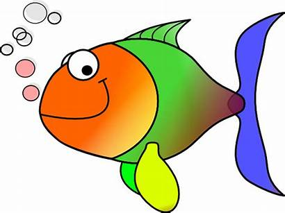 Fish Comic Clip Clker Clipart Cliparts