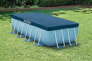 bache piscine intex rectangulaire 300 x 200m cash piscines With bache hivernage piscine hors sol intex