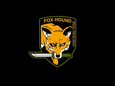 foxhound logo  konami thirtyseven flickr