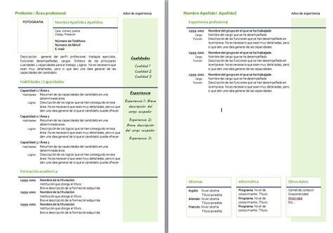modelo de curriculum vitae mixto modelo de curriculum vitae